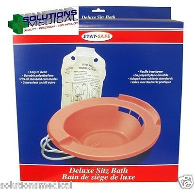 Personal Medical Home Sitz Bath Kit with Bag NEW