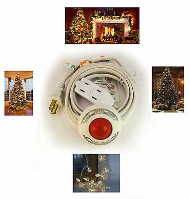 Foot Switch Extension Cord for Christmas Lights Lites Backlit Pedal 9 Ft 257*