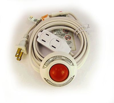 Christmas Light Extension Foot Pedal Lamp Switch 9 ft. Cord 257*