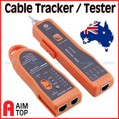 Wire Tracker RJ45 RJ11 Cable Finder LAN  Network / Telephone Cable Tester, 3KM