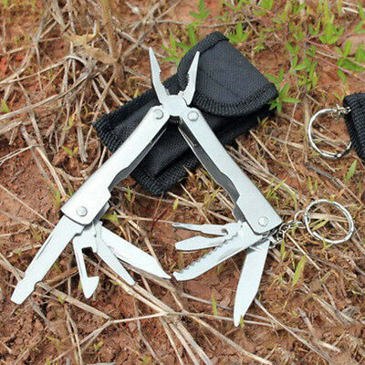 9in1 Outdoor Survival Stainless Steel Multi Tool Plier Portable Mini Camping Kit
