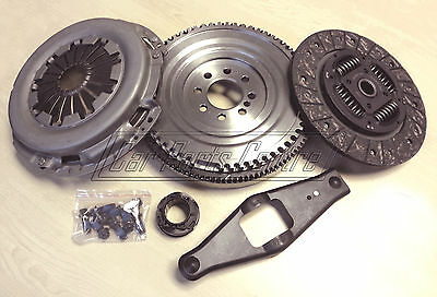 FOR FORD TRANSIT 2.4 Di SOLID MASS FLYWHEEL REPLACEMENT CLUTCH KIT 5 SPEED 00-06