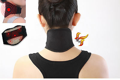 Magnetic Neck Wrap - Self Heating - Support Brace - Aching Muscles / Joints