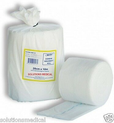 FIRST AID COMBINE ROLL 20cm x 10m WOUND CARE
