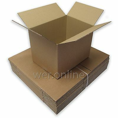 """12"""" x 9"""" x 9"""" A4 Size Postal Mailing Cardboard Boxes Single Walled-Multi Listing"""