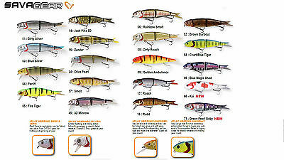 Savage Gear 4Play SWIM & JERK 19CM AND 25CM  HARD LURES crazy price!