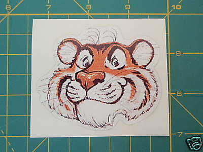 Lambretta Vespa Esso Tigers Head Sticker Gb,gs,gt,rb,gp,sx,tv,li