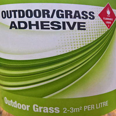 SPORTS Flooring ADHESIVE DIY Marine Boat Outdoor Carpet Grass GLUE 1 Litre