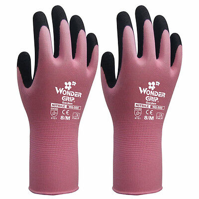 Wet Work Breathable Wonder Grip Gardening Gloves Security Safety Protection