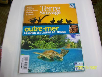 TERRE SAUVAGE  HS . outre-mer ..