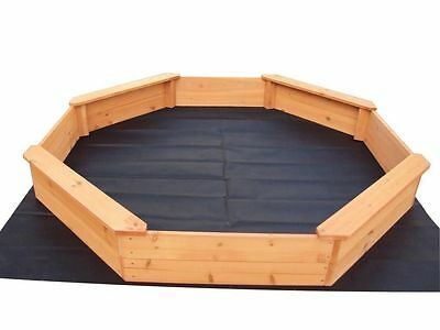 brand new extra large octagon sand pit set sandpit fun for kids