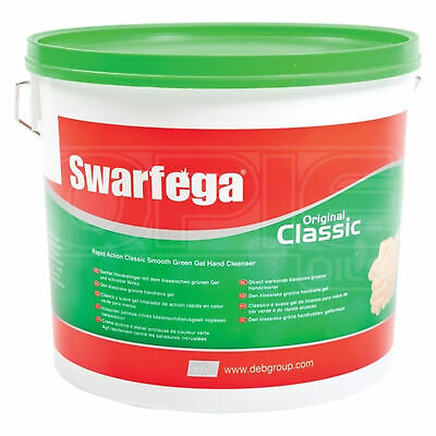 Swarfega Original Classic Green Hand Cleaner Gel 15 Litres TUB 15L