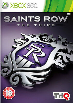 Saints Row The Third (3) ~ XBox 360 (in Good Working Condition)