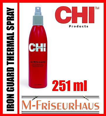 (€56,30/1L) CHI 44 FAROUK Iron Guard Thermal Protection Hitzeschutz Spray 251ml