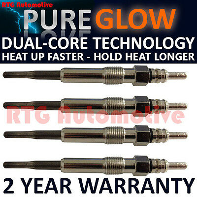 4X For Vw Eos Touran Caddy Mk3 1.9 2.0 Tdi Diesel Heater Glow Plugs Gp60707