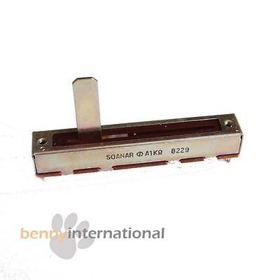 1K SLIDE POT Linear Potentiometer Slider A1K - AUS STOCK