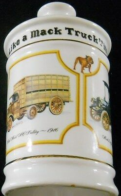 Mack Truck Wild Turkey 75 Yrs. Whiskey Collectible Decanter No Top 1975