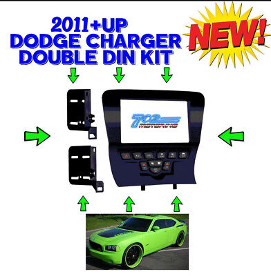 Metra 99-6514B Double/single Din Car Dash Kit For Select 2011-Up Dodge Charger