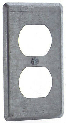 New Thomas And Betts 58-C-7 Single Gang Duplex Receptacle Utility Box Cover