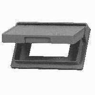New Cooper Wiring Devices S1966-SP GFCI Decorator Outlet Cover