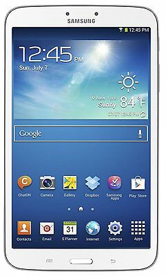 "Samsung Galaxy Tab 3 SM-T3100 16GB 8"" 1.50 GHz 1.5GB Android Wi-Fi Tablet -WHITE"