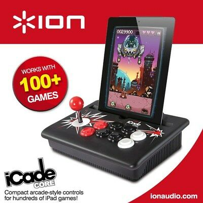 ION iCadeCore Arcade Docking Game Controller for iPad1&2 w/ joystick and button