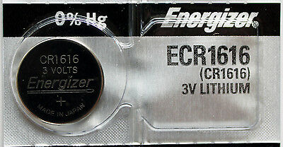 1PC Energizer 1616 CR1616 Coin Cell Battery