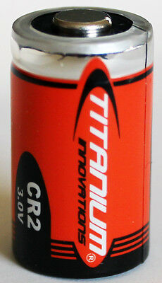 1PC Titanium Innovations CR2 3V Lithium Battery - ships from Canada