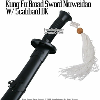Chinese Martial Art Kung Fu Broad Sword Niuwei Dao Scab