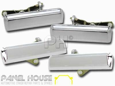 NEW Ford Falcon XD XE XF '79-87 Front Rear Outer Door Handle Set x4 CHROME Metal
