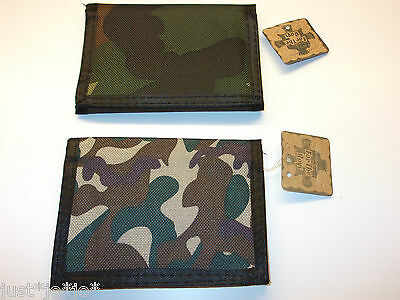 Boys Teens Mens Army Camouflage Camo Ripper Wallet Xmas Present  (127)
