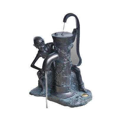 Sneaky Sip Pond Pixie – Outdoor Garden Water Feature Statue Fountain Spitter