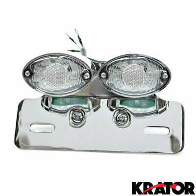 Plate Tail Light Turn Signals For Harley Davidson Softail Heritage Custom