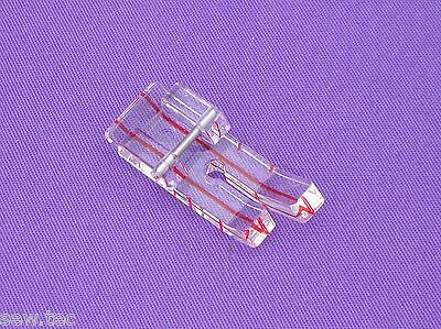 """1/8"""" 1/4"""" Clear View  Quilting Foot  To Fit Brother Janome Silver Toyota"""