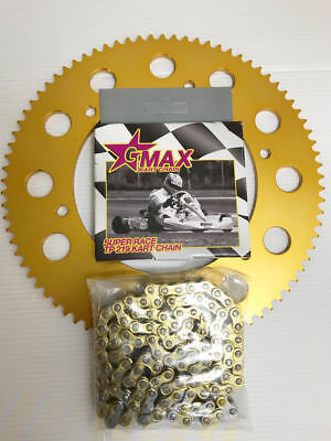 Kart 100  Link Gmax Chain & Sprocket Offer The Best Price - Rotax - TKM - Honda