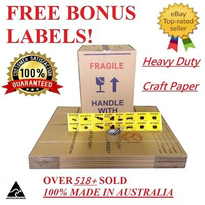 10X100L Moving Box & Packing Supply Removalist Packaging