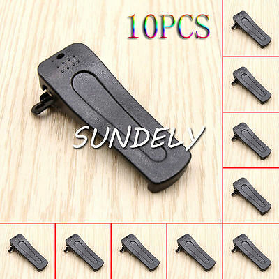 10pcs Belt Clip for BAOFENG Radio H777 BF-666S BF-777S BF-888S BF-999S US STOCK