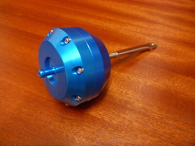 T2 T25 T3 Universal Turbo Turbocharger Wastegate Actuator Blue 12 Psi 0.85 Bar