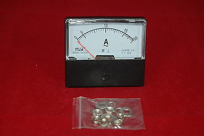 AC 20A  Analog Ammeter Panel AMP Current Meter AC 0-20A 60*70MM directly Connect