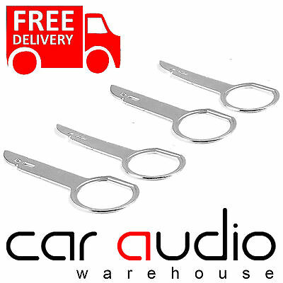 Pc5-132 Seat Exeo Double Din Radio Removal Release Extraction Keys X 4