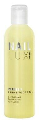 Salon System Nail Lux Refresh Hand & Foot Manicure Pedicure Treatment 250ml
