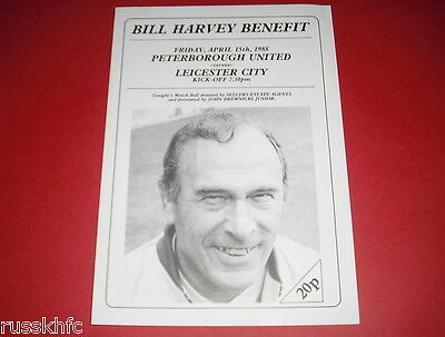 1988 Bill Harvey Benefit Peterborough V Leicester