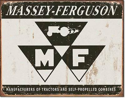 Massey Ferguson Tractors Tin Metal Signs Combined Postage For 2+