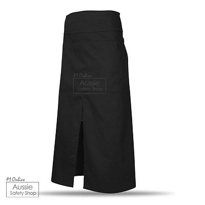 3 X Luxe Corporate Modern Hotel Chef Restaurant Hospitality Cafe Split Aprons