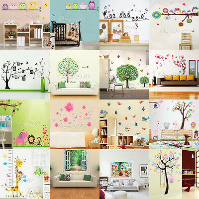 Cartoon/Letter Quote Removable Vinyl Decal Wall Sticker Art Mural Kid Home Decor
