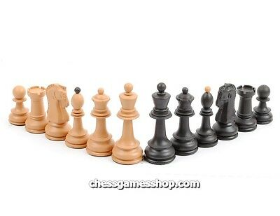 High quality Dubrovnik plastic chess pieces / chessmen