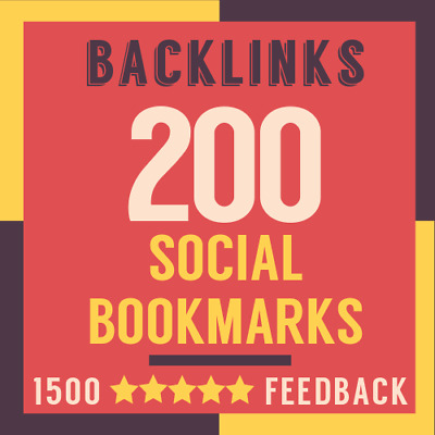 800 Verified Live SEO Social Bookmarks High Quality Backlinks. Ping Included.
