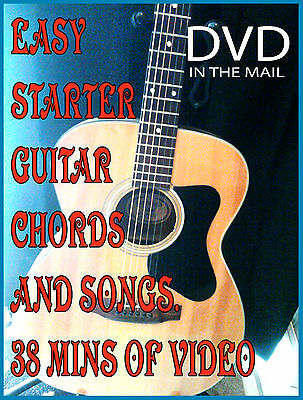 LEARN to Play Acoustic Guitar DVD BEST BEGINNER LESSONS - $17.99 ...