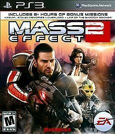 Mass Effect 2  (Sony Playstation 3, 2011)  Complete  Black Label  Mint Disc !!!