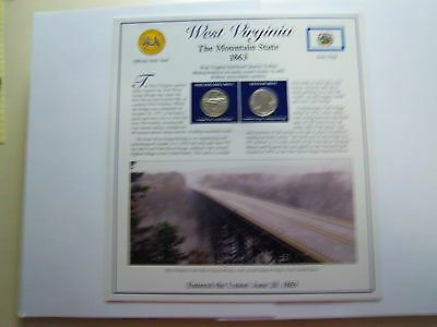 Coinhunters-2005 West Virginia State Quarters P&D Postal Commemorative Society